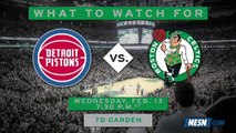Pistons Vs. Celtics Preview: C's Try To Build Momentum