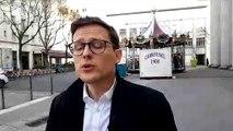 Interview de Damien Berthilier à propos de l'école obligatoire dès 3 ans.