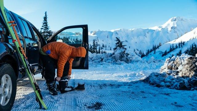 Ski Touring Artist's Point in the Mount Baker Backcountry