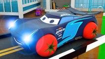 Voitures Dessin Animé pour Enfants - Vidéo 3D éducative pour les enfants