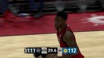 Derek Cooke Jr. Posts 13 points & 17 rebounds vs. Santa Cruz Warriors