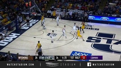 Wyoming vs. Utah State Basketball Highlights (2018-19)