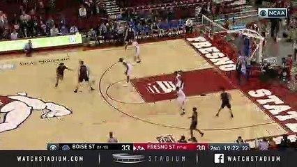 Boise State vs. Fresno State Basketball Highlights (2018-19)