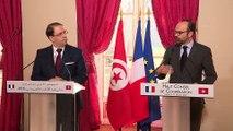 Haut Conseil de Coopération franco-tunisien : point presse des deux chefs de Gouvernement