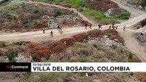Челночный бизнес на границе Колумбии и Венесуэлы