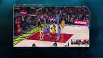 Basketball nba : L.A Lakers vs Atlanta Hawks