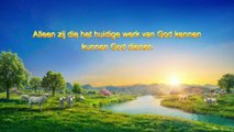 De woorden van de Heilige Geest 'Alleen zij die het huidige werk van God kennen kunnen God dienen'