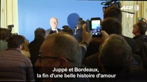 Emu aux larmes, Alain Juppé fait ses adieux à Bordeaux