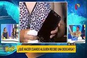 Especialista brinda recomendaciones para evitar descargas eléctricas de celulares