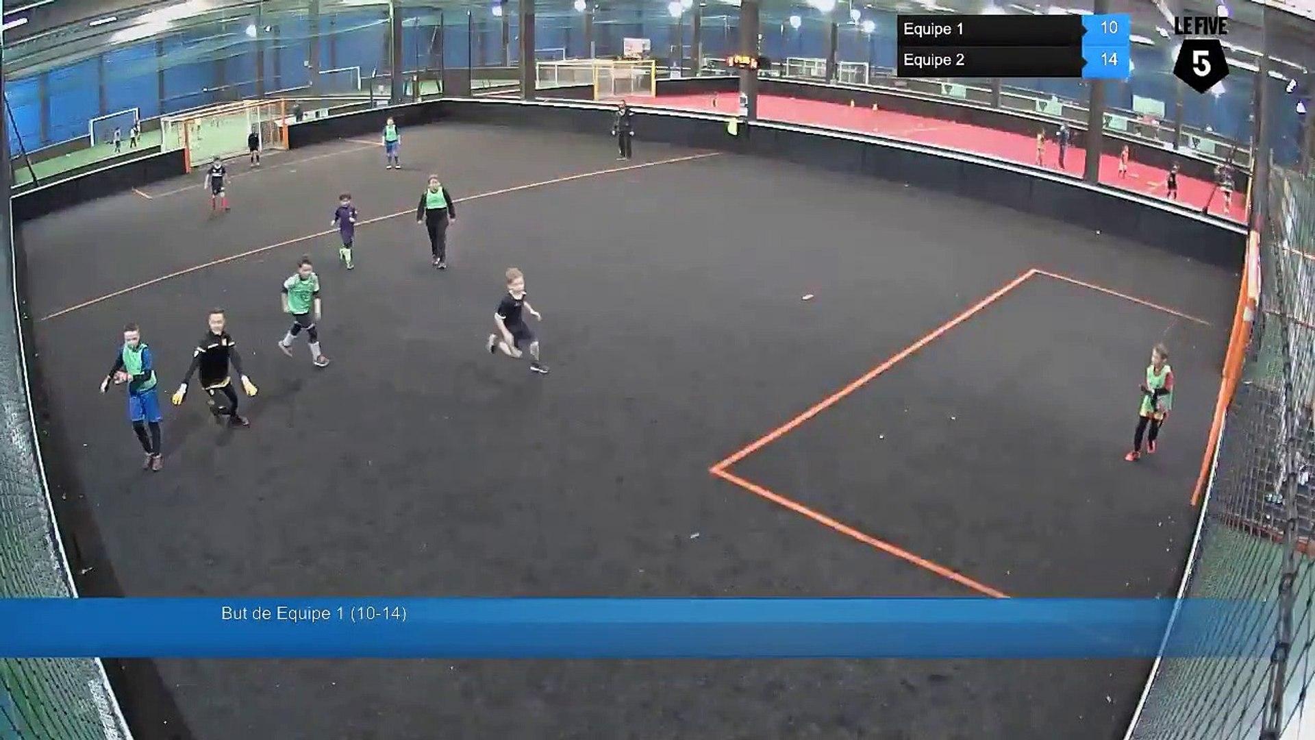 But de Equipe 1 (10-14) - Equipe 1 Vs Equipe 2 - 14/02/19 14:49 - Loisir Lens (LeFive)