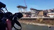 Ponte Morandi, a 6 mesi dal crollo rose rosse per le 43 vittime