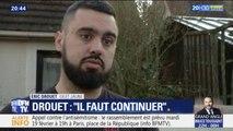 """Éric Drouet: """"Il faut que les gilets jaunes continuent à avancer"""""""