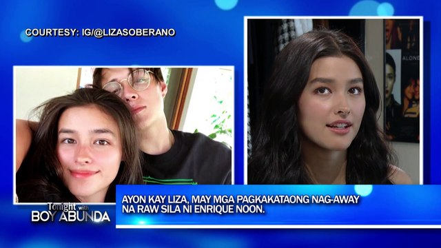 TWBA: Liza talks about her relationship with Enrique