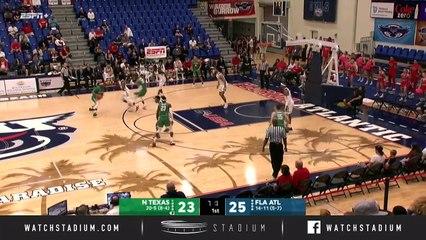 North Texas vs. Florida Atlantic Basketball Highlights (2018-19)