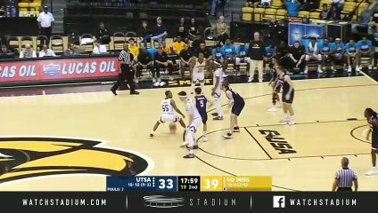UTSA vs. Southern Miss Basketball Highlights (2018-19)