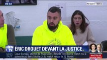 Gilets jaunes: Éric Drouet comparaît ce vendredi au tribunal correctionnel de Paris