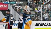 AHL Hockey - San Diego Gulls @ San Jose Barracuda - NHL 19 Simulation Full Game 16/2/19