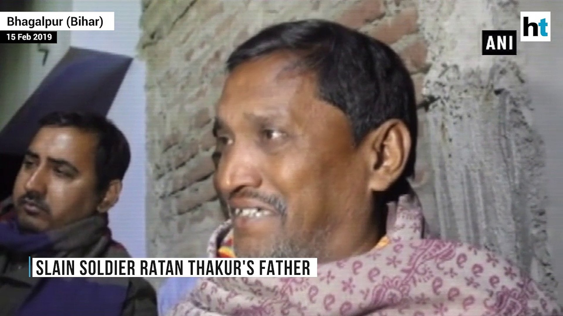 Will sacrifice other son too, teach Pak a lesson: Father of Pulwama martyr