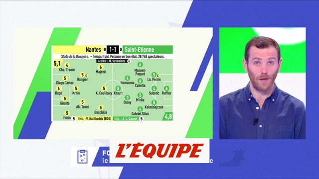 L'Équipe-MPG, le nouveau milieu de Saint-Étienne - Foot - L1