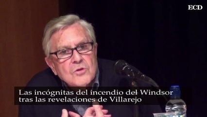 Las incógnitas del incendio del Windsor tras las revelaciones de Villarejo el butrón en el garaje y el desconocido de la fotocopiadora