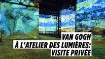 Atelier des Lumières : découvrez l'expo Van Gogh en avant-première