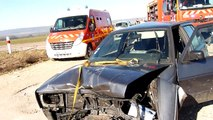 Accident de la route Neufchâteau et Bazoilles-sur-Meuse : trois véhicules impliqués