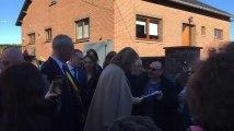 Fleurus: la Reine Mathilde quitte la maison maternelle de Baulet
