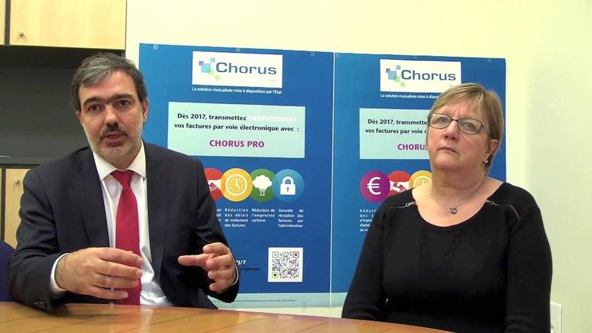 Témoignage Chorus Pro CNRS