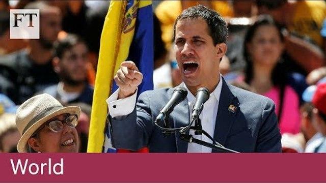 Venezuela's Juan Guaidó sets entry date for humanitarian aid