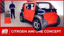 Citroën Ami One Concept : la boîte à malice