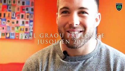 Paul Graou sapiacain jusqu'en 2021 !