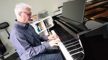 Porcelette : le pianiste Alain Thiel nous offre quelques notes de piano