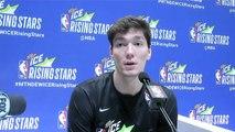 Rising Stars Media Day: NBA G League Alum Cedi Osman Talks Overall Improvement