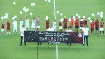 Flamengo rend hommage aux victimes de l'incendie du centre de formation