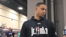 One-on-one with Seth Curry