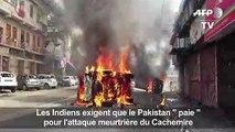 Attentat au Cachemire: manifestation à Jammu