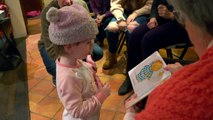 Community learns sign language to engage with 2-year-old girl