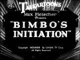 Bimbos Initiation (1931) - Short (Animation, Comedy)