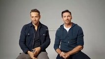 Ryan Reynolds becomes Hugh Jackman and Hugh Jackman becomes Ryan Reynolds. (DeepFake)