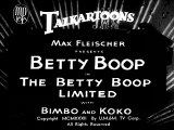 Betty Boop the Betty Boop Limited (1932) - Short (Animation, Comedy)