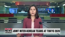 Koreas to field joint teams in 4 sports at 2020 Tokyo Olympics