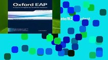 Oxford EAP: Upper-Intermediate/B2: Student s Book and DVD-ROM Pack