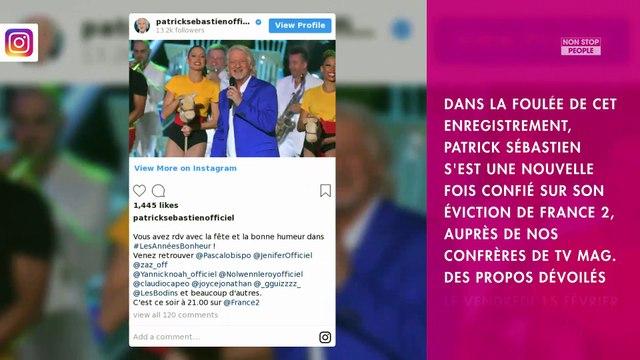 Patrick Sébastien viré de France 2 : l'animateur s'en prend à Nagui