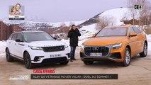 Match : Audi Q8 vs Range Rover Velar : Duel au sommet - Direct Auto - 16/02/2019