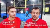Hugo Schott et Lionel Ollinger nous expliquent ce qu'est le padel
