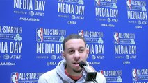 NBA G League Alum Seth Curry Discusses Matchups in 3-Point Contest