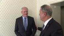 Milli Savunma Bakanı Akar, ABD'nin Suriye Özel Temsilcisi Jeffrey ile Görüştü