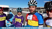 Tour de La Provence : 200 passionnés testent le circuit avant les coureurs