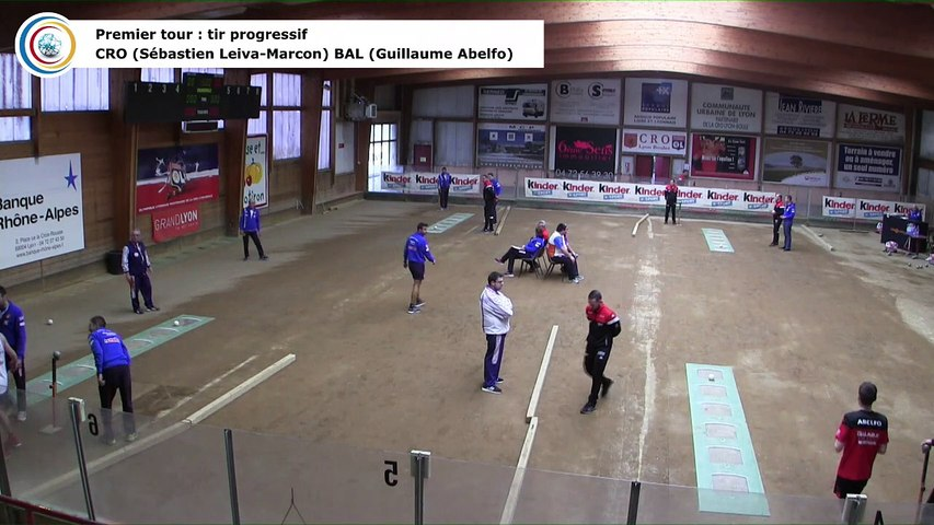 Premier tour, tir progressif, France Club Elite 1, J5 groupe Titre,  CRO Lyon contre Balaruc-les-Bains,  saison 2018/2019