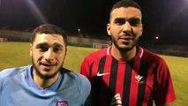 N3 – Salim MAOUCHI et Abdel EL MARYOUCH régissent après le nul entre le FC VAULX et le FC BOURGOIN